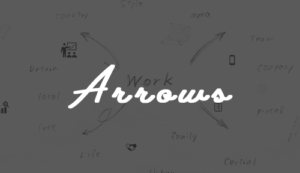 Arrowsロゴ_Good Things, Inc.